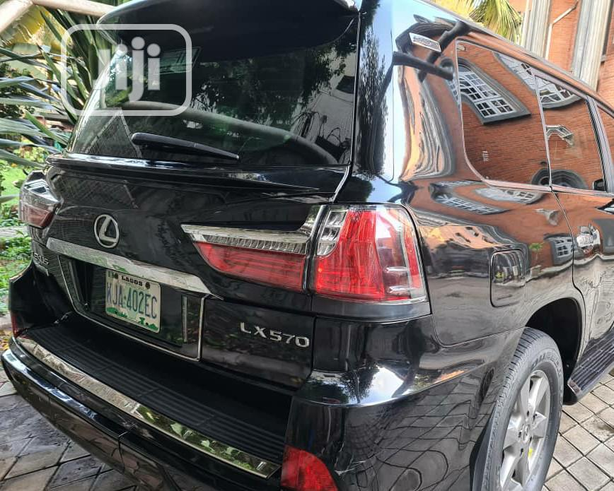 Lexus LX 2010 570 Black   Cars for sale in Ikeja, Lagos State, Nigeria