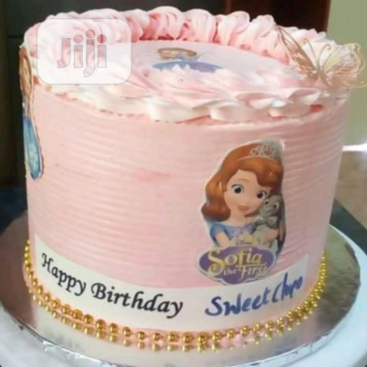 Sumptuous Sofia Birthday Cake With Gold Beads