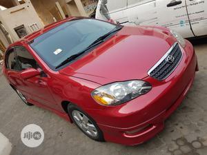 Toyota Corolla 2007 S Red | Cars for sale in Lagos State, Ifako-Ijaiye