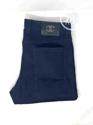 Chanel Navy Blue Jeans Original | Clothing for sale in Lagos State, Surulere