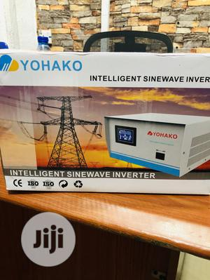 1kva 12v Yohako Pure Sine Wave Inverter Is Available | Solar Energy for sale in Lagos State, Ojo