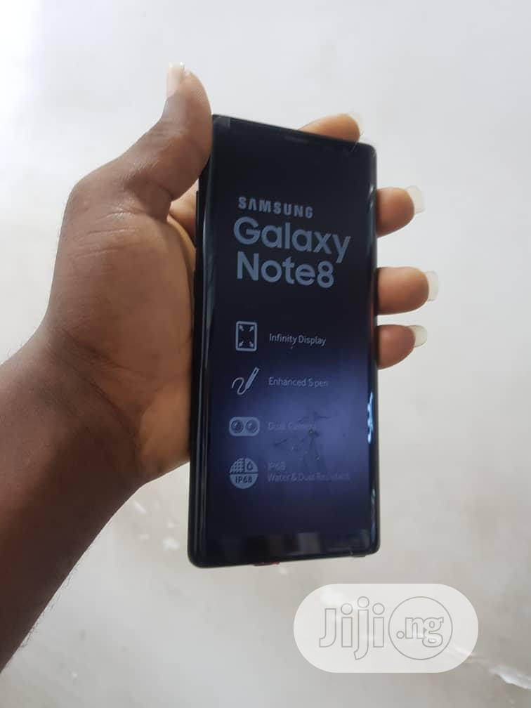 Samsung Galaxy Note 8 64 GB Black | Mobile Phones for sale in Ikeja, Lagos State, Nigeria