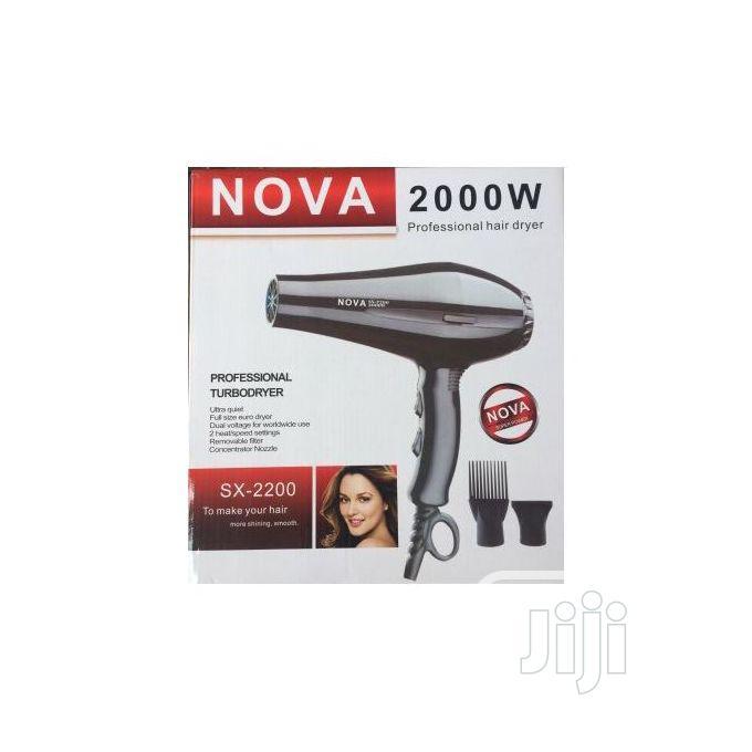 Nova 2000W Professional Hair Dryer