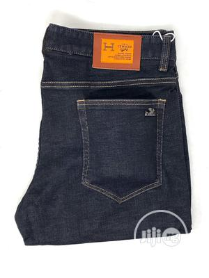 Hermes Navy Blue Jeans Original | Clothing for sale in Lagos State, Surulere