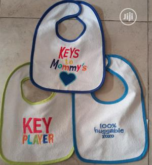 3 Pack Baby Slogan Bibs   Baby & Child Care for sale in Lagos State, Surulere