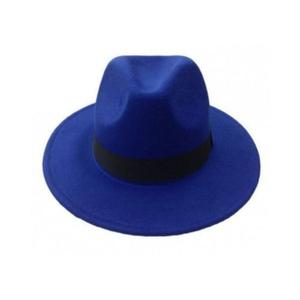 Fedora Wide Brim Hat - Blue   Clothing Accessories for sale in Lagos State, Abule Egba