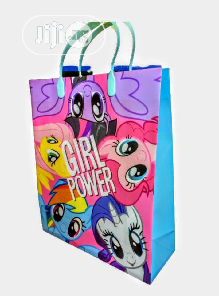 12pcs Kids Plastic Party Bag
