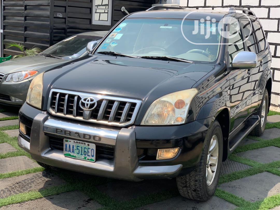Toyota Land Cruiser Prado 2007 VX Black | Cars for sale in Ikeja, Lagos State, Nigeria