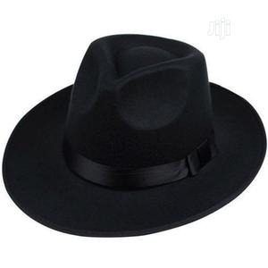 Fedora Wide Brim Hat Black X2   Clothing Accessories for sale in Lagos State, Abule Egba