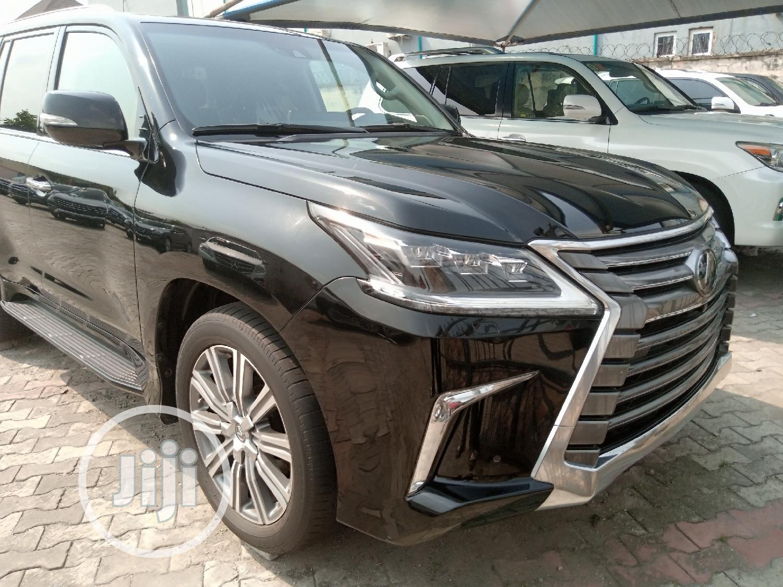 Lexus LX 2017 570 Base Black | Cars for sale in Amuwo-Odofin, Lagos State, Nigeria