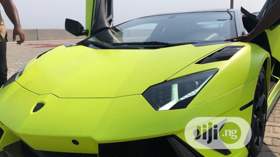 Lamborghini Aventador 2013 Green