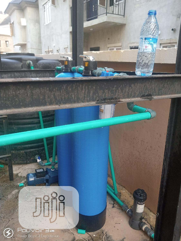 Fiberglass Treatment Plant