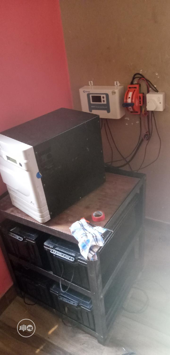 Archive: 3.5kva Inverter And Batteries