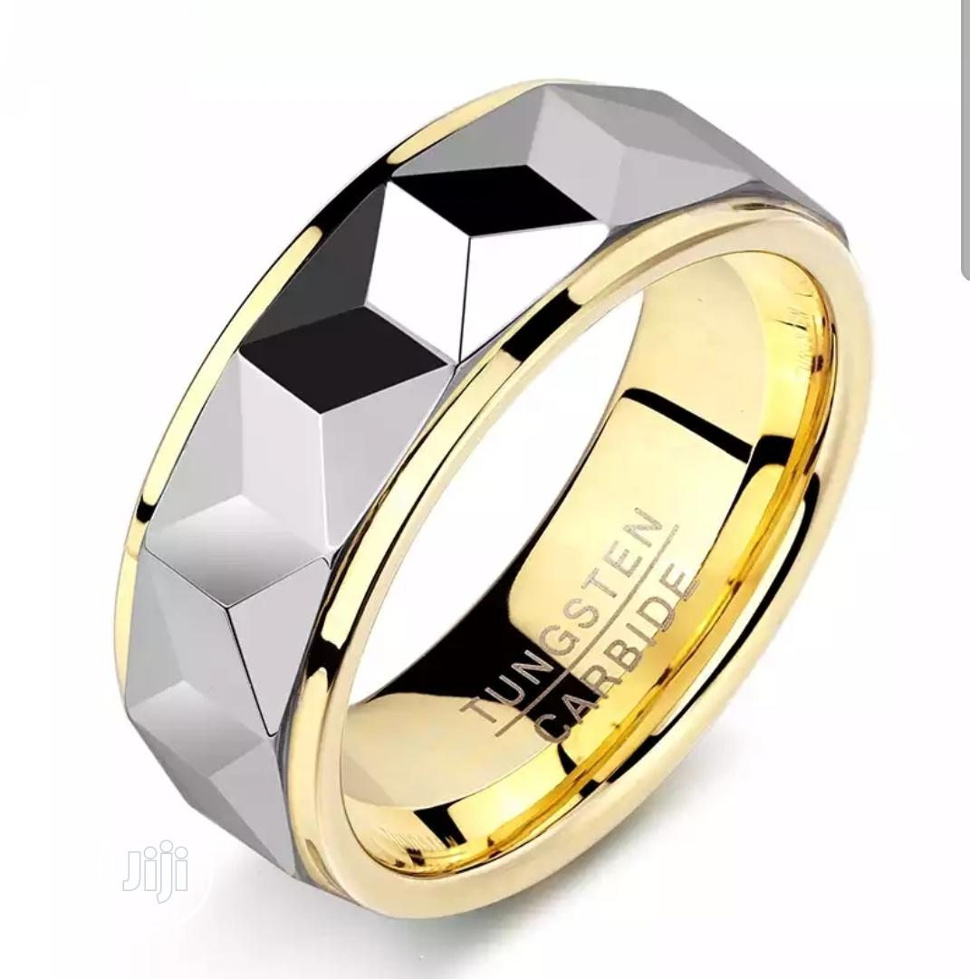 Hog Solid Original Tungsten Carbide Male Wedding Ring | Wedding Wear & Accessories for sale in Owerri, Imo State, Nigeria