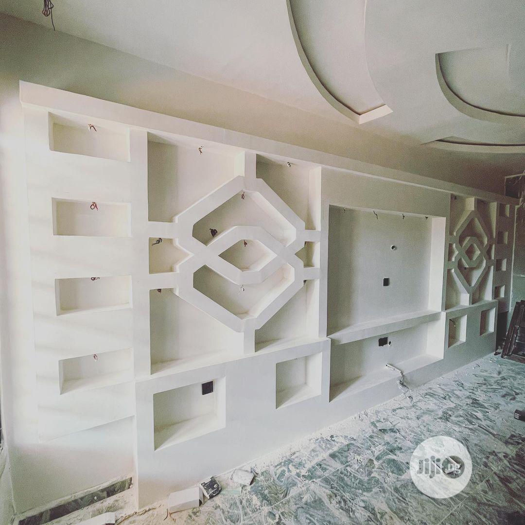 Archive: Pop Interior, Wall Screeding, Tv Stand, Wine Bar