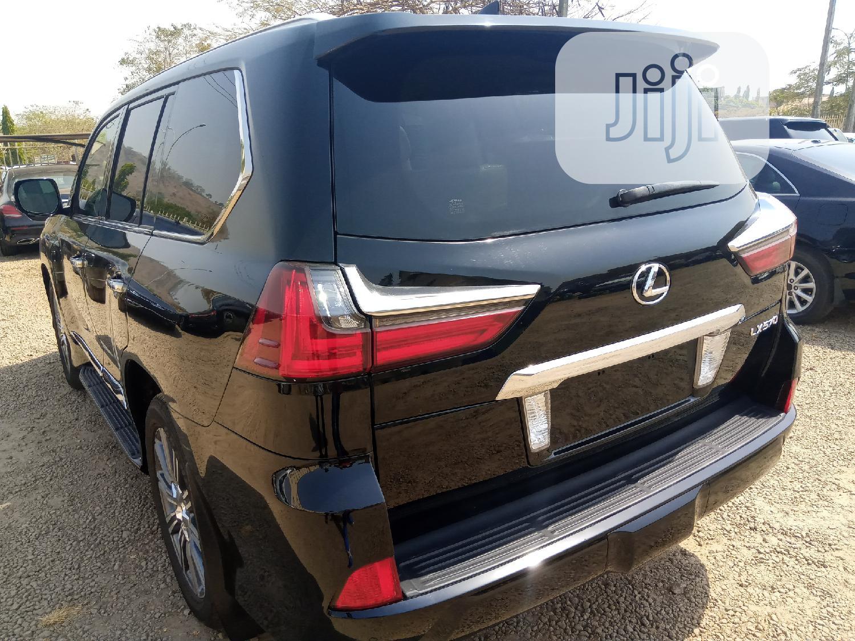 Lexus LX 2017 570 Base Black   Cars for sale in Durumi, Abuja (FCT) State, Nigeria