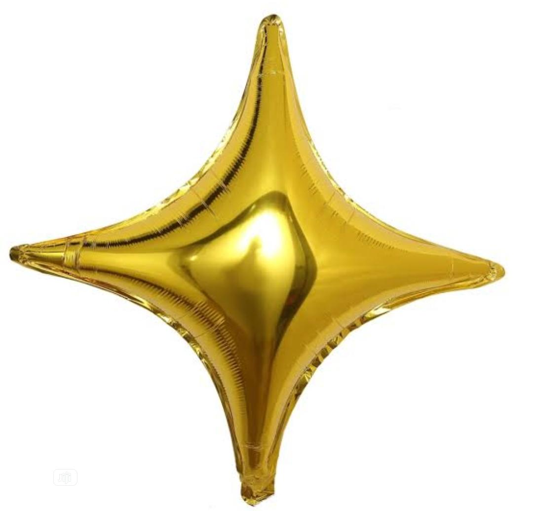 Star Shape Foil Balloon   Toys for sale in Ikeja, Lagos State, Nigeria