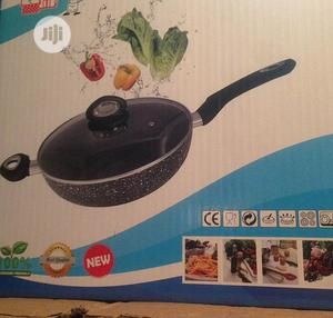 Granite Style Wok Frypan 28cm   Kitchen Appliances for sale in Lagos State, Surulere