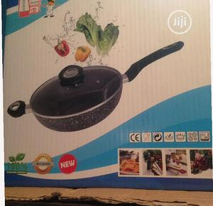 Granite Style Wok Frypan 28cm   Kitchen Appliances for sale in Rivers State, Port-Harcourt