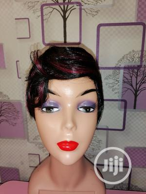 Red Black Short Hair Mix | Hair Beauty for sale in Lagos State, Surulere