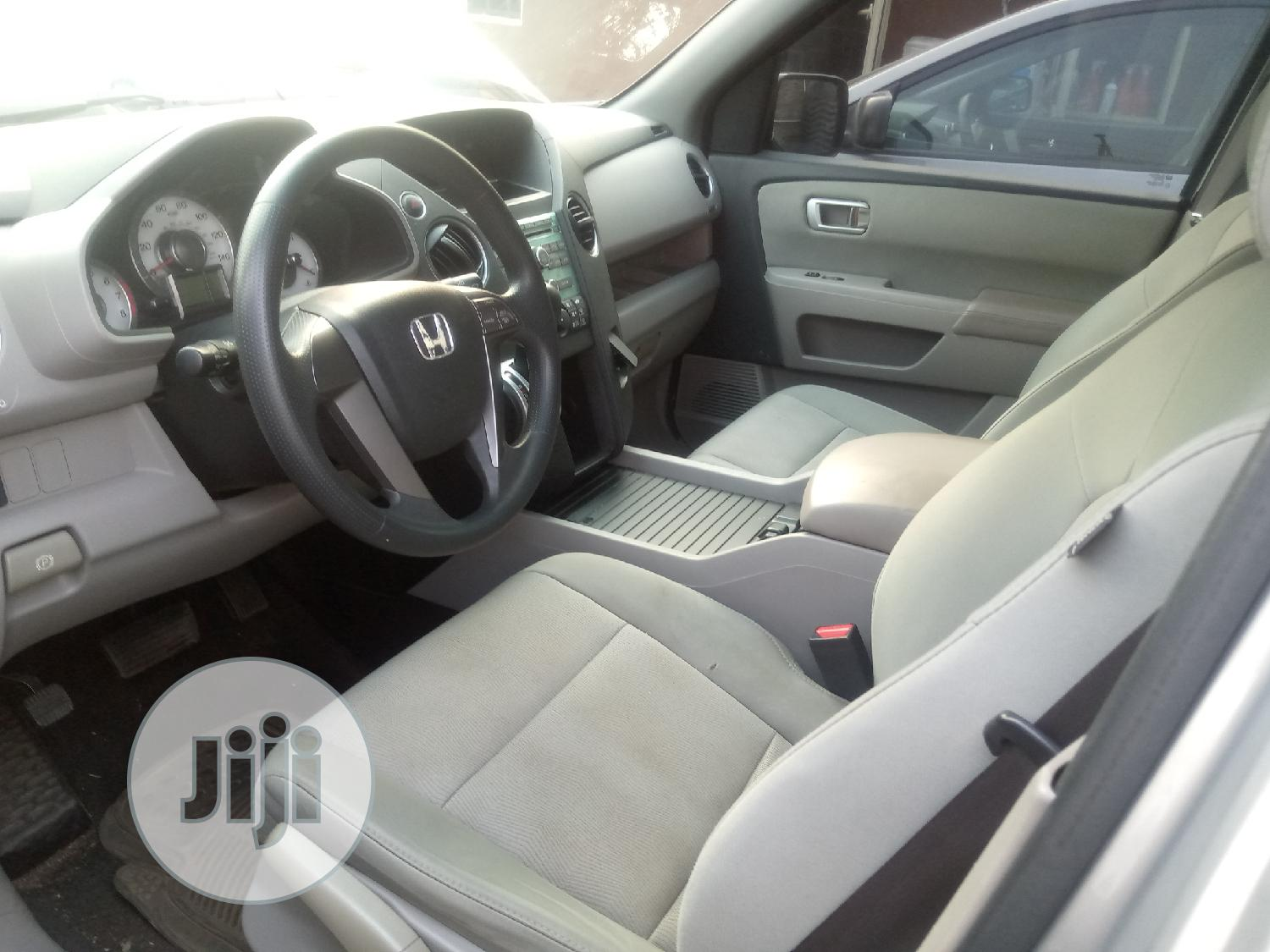 Honda Pilot 2010 Silver   Cars for sale in Ogba, Lagos State, Nigeria