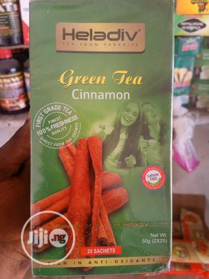Heladiv Green Tea Cinnamon for All Infections Total Being   Vitamins & Supplements for sale in Lagos State, Gbagada