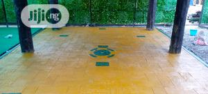 Concrete Stamp Floor | Building & Trades Services for sale in Lagos State, Mushin