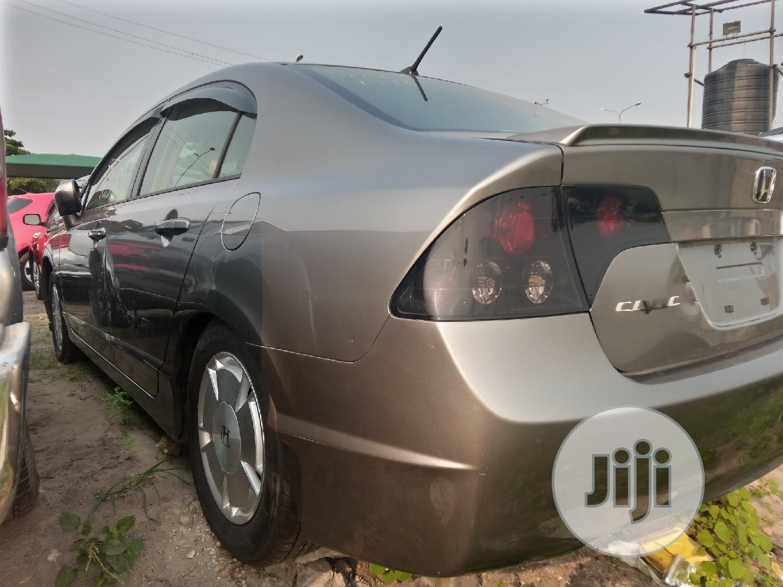 Honda Civic 2005 1.4i Sport Automatic Gray | Cars for sale in Amuwo-Odofin, Lagos State, Nigeria