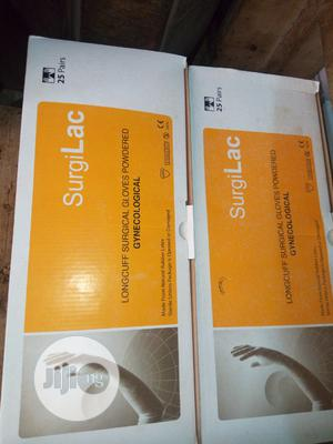 Gynecological Elbow Length Gloves Packet of 25   Medical Supplies & Equipment for sale in Lagos State, Shomolu