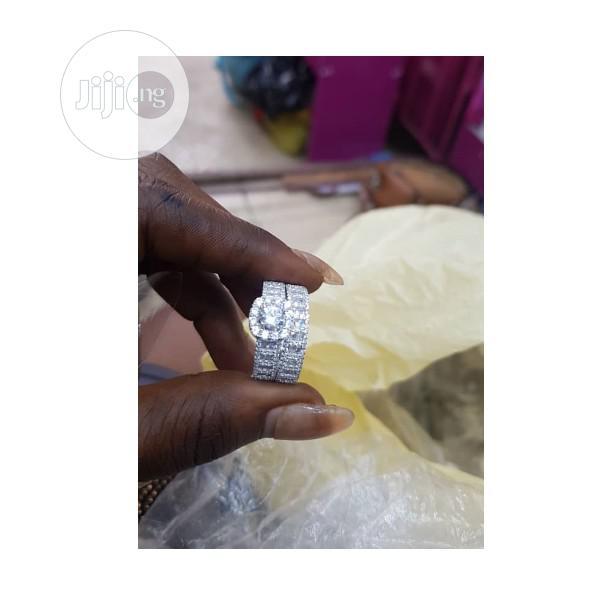 Dubai 925 Sterling Silver Ladies Proposal/Engagement Ring