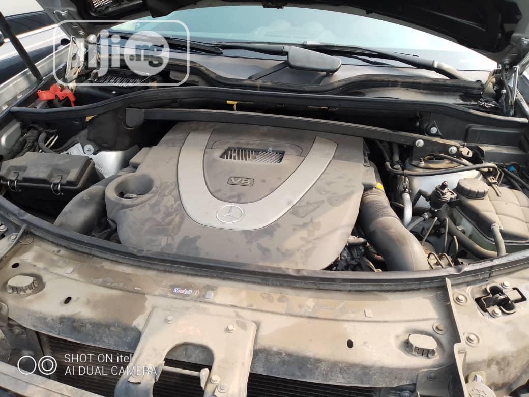 Mercedes-Benz GL Class 2007 GL 450 Silver   Cars for sale in Amuwo-Odofin, Lagos State, Nigeria