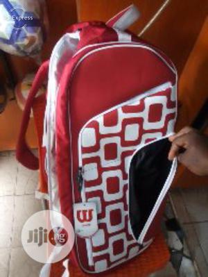 Original 2-zipper Wilson Tennis Bag   Sports Equipment for sale in Lagos State, Surulere
