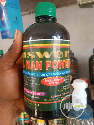 Man Power_ Become More Than A 2 Minutes Man By Answer Revive   Vitamins & Supplements for sale in Lagos State, Gbagada