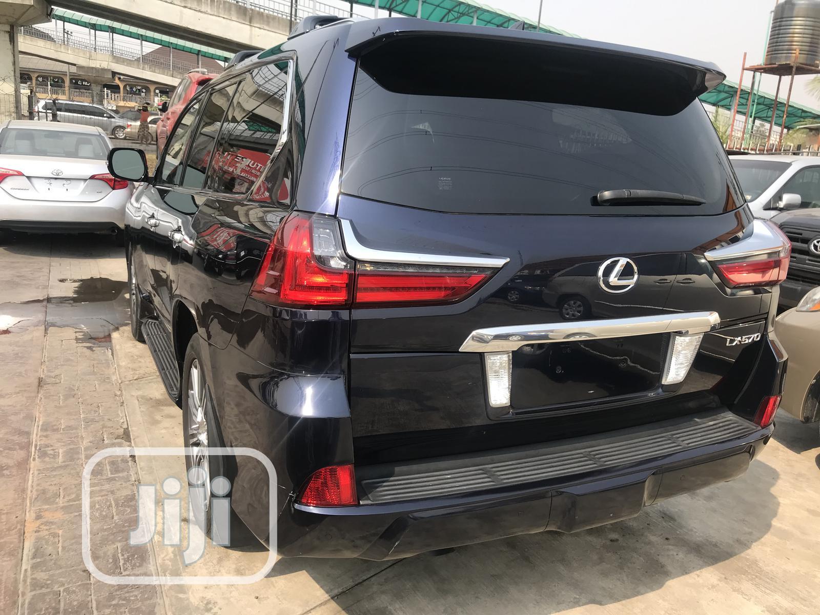 Lexus LX 2017 570 Base Blue | Cars for sale in Lekki, Lagos State, Nigeria