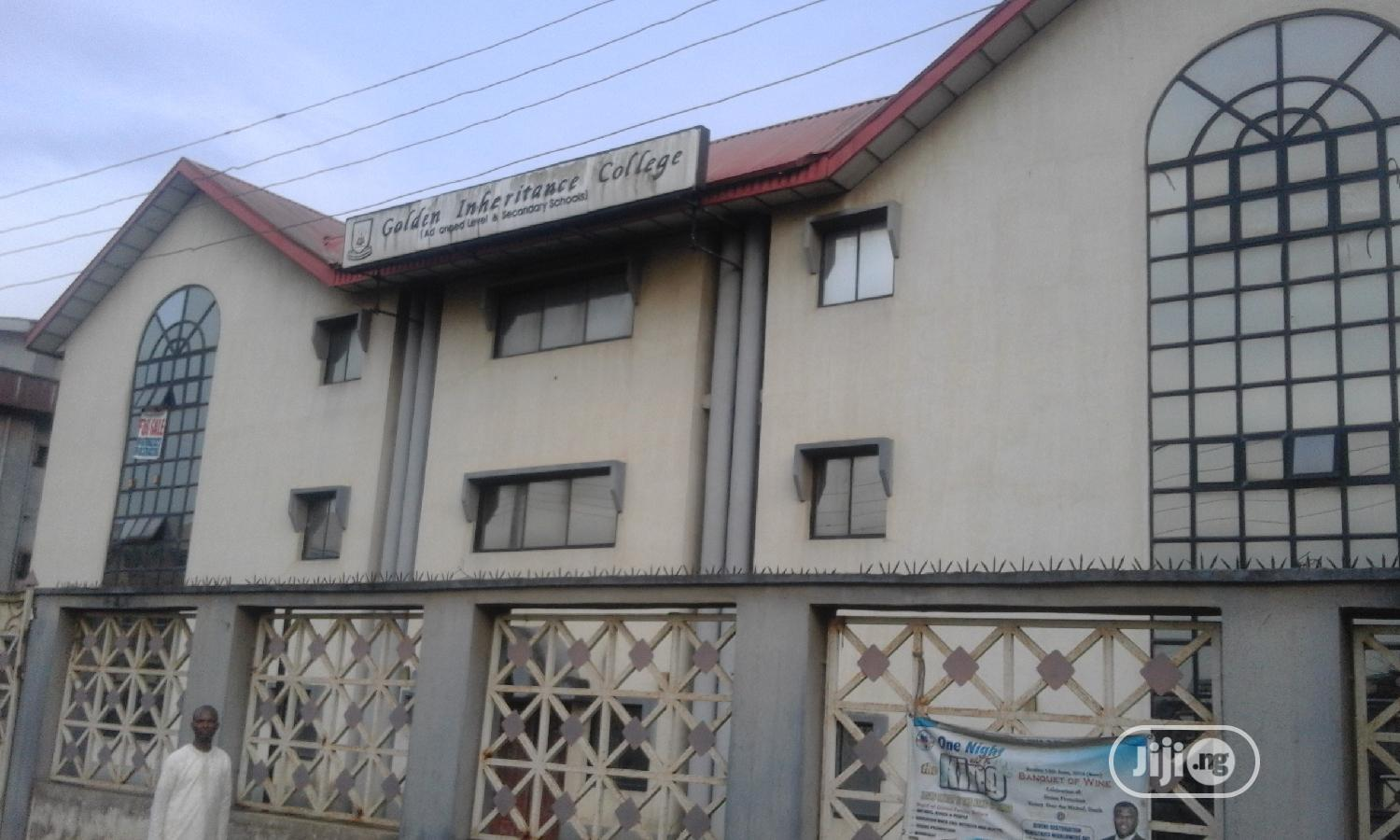 School Building | Commercial Property For Sale for sale in Ago Palace, Isolo, Nigeria