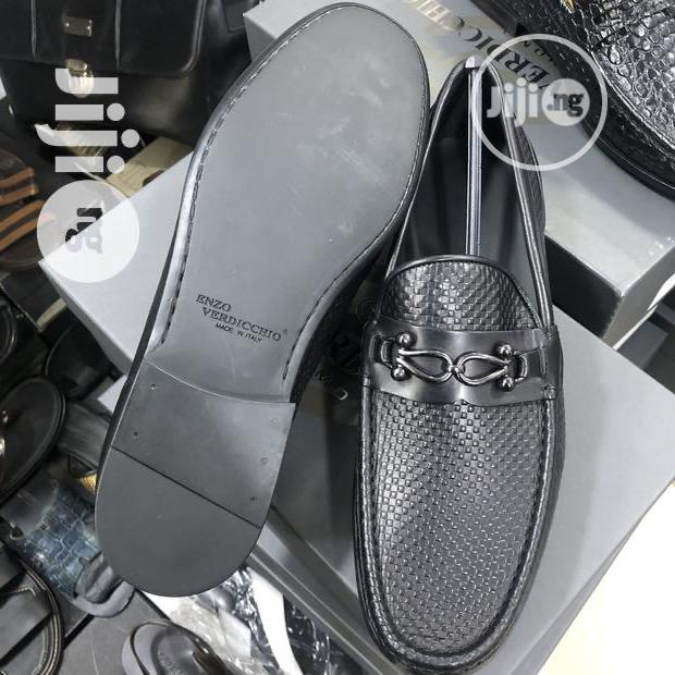 ENZO VERDICCHIO Italian Leather Loafers Shoe | Shoes for sale in Ikoyi, Lagos State, Nigeria