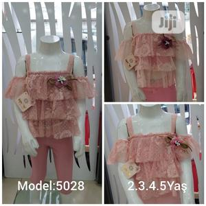 Lacy Top+ Leggings For Babygirl Age 2-5years | Children's Clothing for sale in Abuja (FCT) State, Gwarinpa