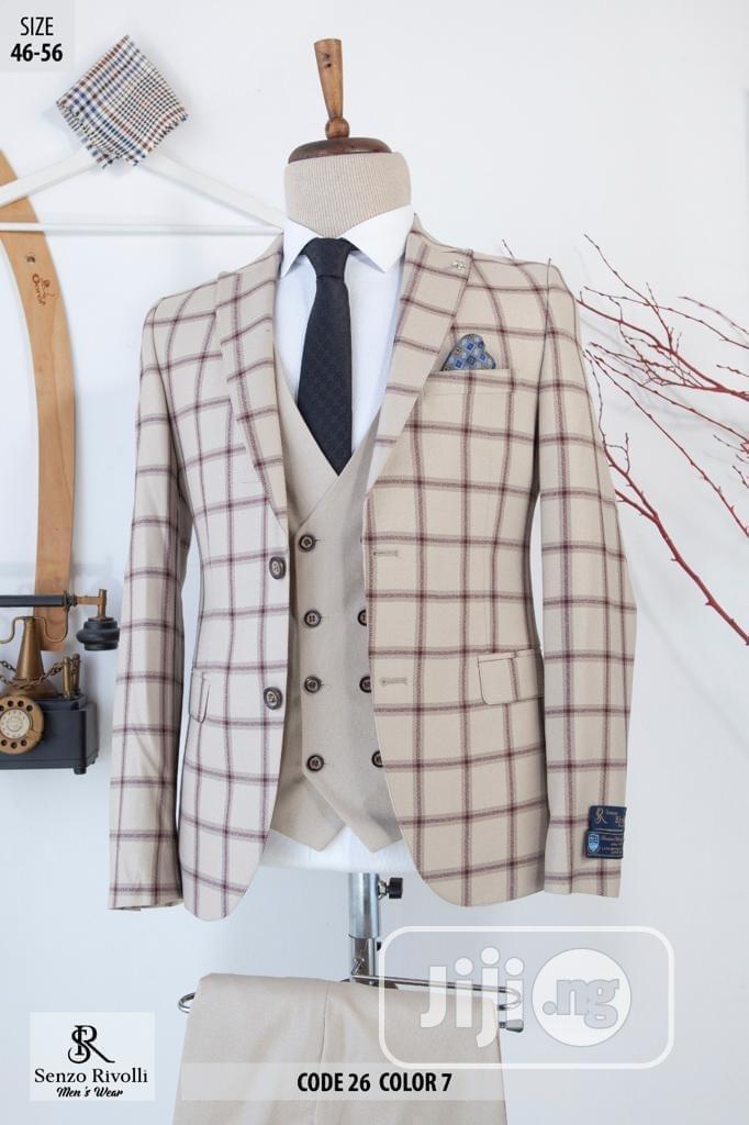 Turkish Senzo Rivolli Checkers Suit | Clothing for sale in Lagos Island (Eko), Lagos State, Nigeria