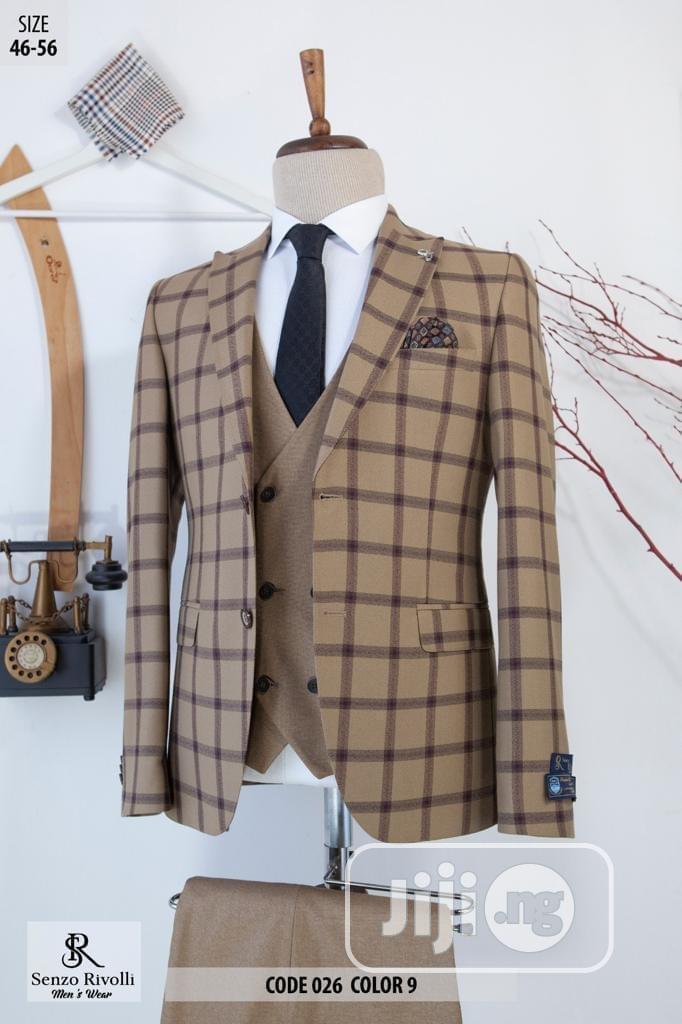 Turkish Senzo Rivolli Checkers Suit