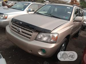Toyota Highlander 2005 Limited V6 Gold   Cars for sale in Lagos State, Apapa