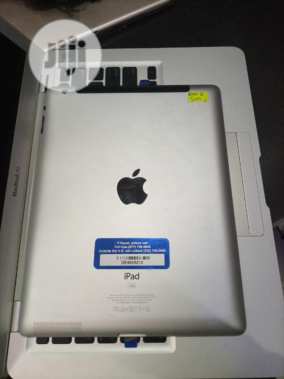 Apple iPad 3 Wi-Fi + Cellular 32 GB | Tablets for sale in Wuse, Abuja (FCT) State, Nigeria