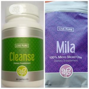 Live Pure Cleanse & Mila (Relief,Cure Stomach Ulcer)   Vitamins & Supplements for sale in Lagos State, Ikeja