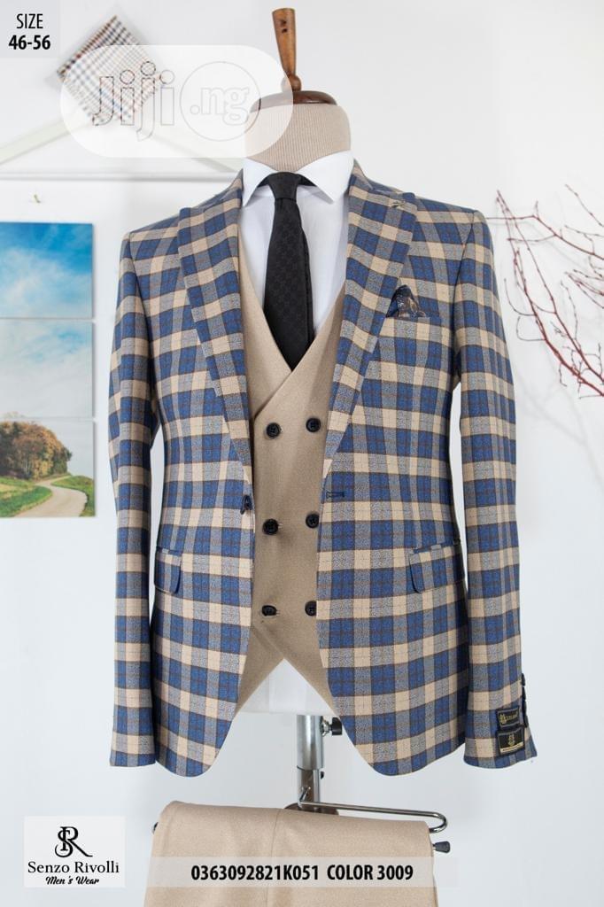 Senzo Rivolli Turkish Checkers Suit
