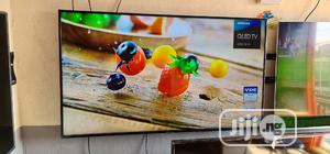 55 Inches Samsung Qled Smart UHD 4k HDR Q6F Flat Led Tv   TV & DVD Equipment for sale in Lagos State, Ojo