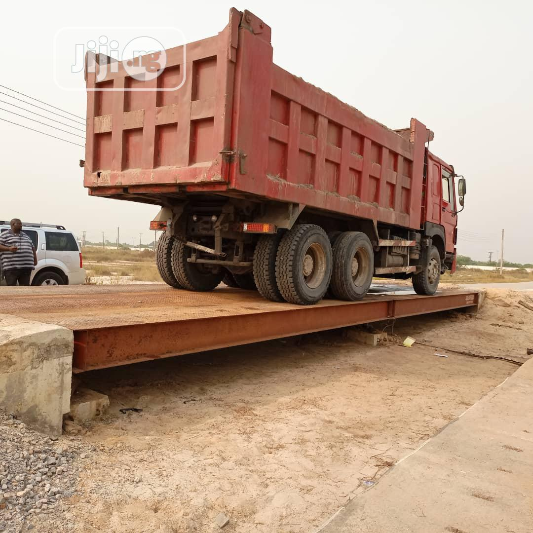 Weighing Bridge Scale 120TONS