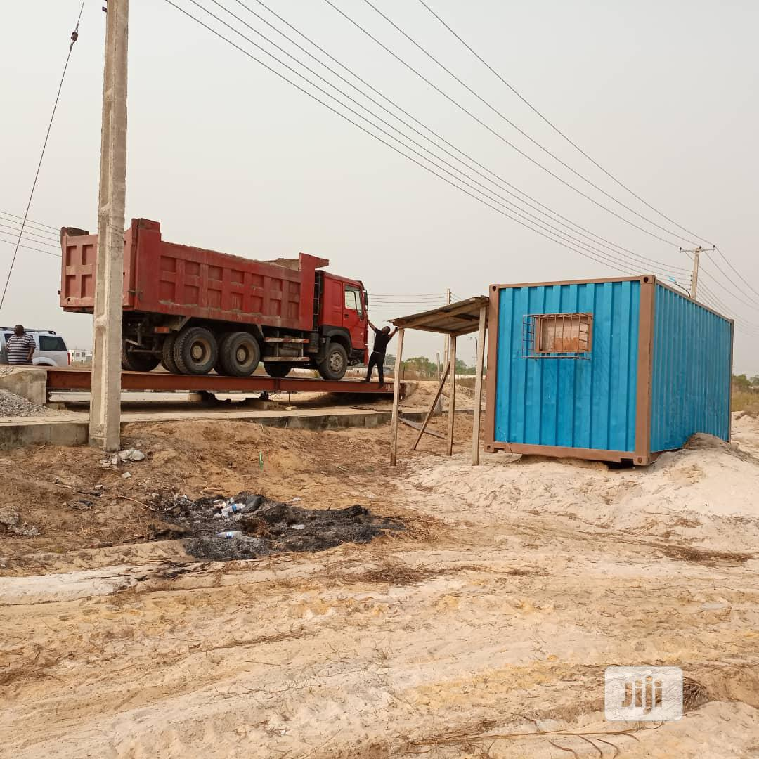 Weighing Bridge Scale 120TONS   Store Equipment for sale in Ajah, Lagos State, Nigeria