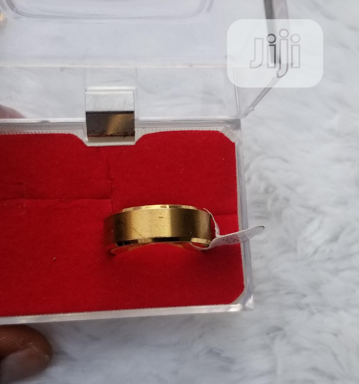 Plain Titaniun Male Wedding Ring | Wedding Wear & Accessories for sale in Ajah, Lagos State, Nigeria