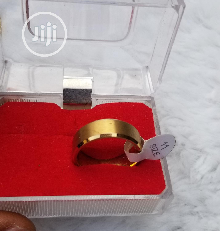 Plain Titaniun Male Wedding Ring