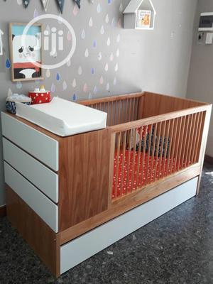 BABY COT With Storage Cabinets   Children's Furniture for sale in Lagos State, Ipaja