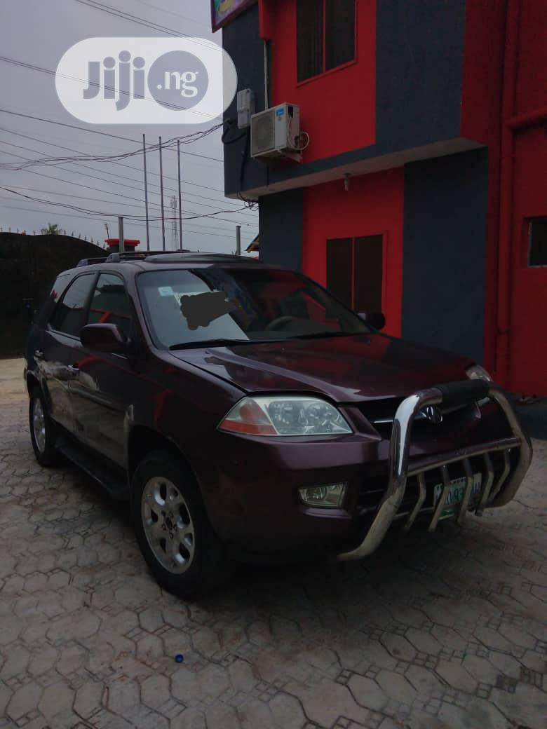 Archive: Acura MDX 2004 Red
